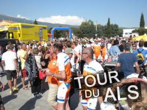Tour du ALS eindfeest 300x225 Verslag Tour du ALS 2013
