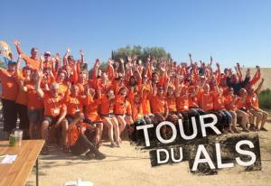 Vrijwilligersteam 2013 1 300x206 Verslag Tour du ALS 2013